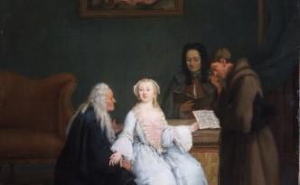 La lección de música Pietro Longhi